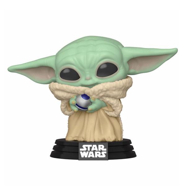Фигурка Funko POP! Bobble: Star Wars: Mandalorian: The Child with Control Knob (Exc)