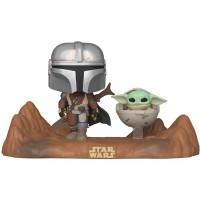 Фигурка Funko POP! Vinyl: Moment: Star Wars: The Mandalorian and Child