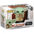 Фигурка Funko POP! Bobble: Star Wars: Mandalorian: The Child with Frog