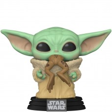 Фигурка Funko POP! Bobble: Star Wars: Mandalorian: The Child with Frog