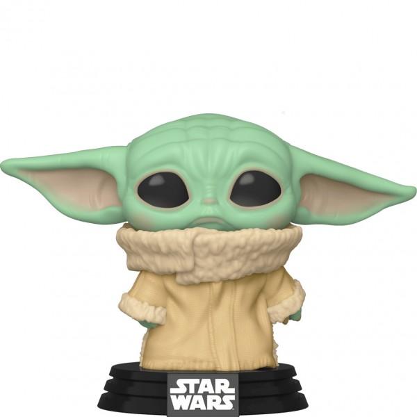 Фигурка Funko POP! Bobble: Star Wars: Mandalorian: The Child (Concerned) (Exc)