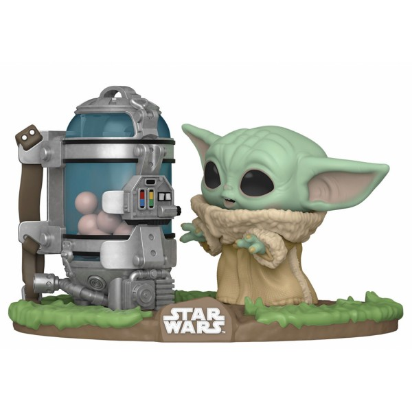 Фигурка Funko POP! Deluxe: Star Wars: The Mandalorian: Child with egg Canister