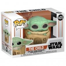 Фигурка Funko POP! Bobble: Star Wars: Mandalorian: The Child with Bag