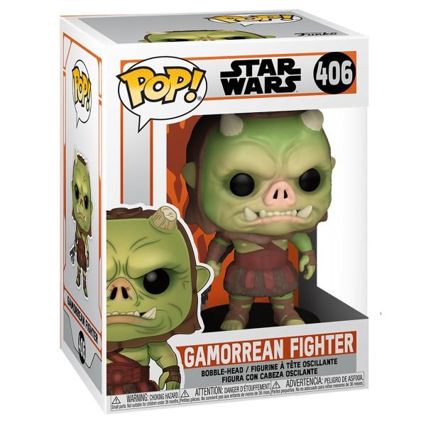 Фигурка Funko POP! Bobble: Star Wars: The Mandalorian: Gamorrean Fighter