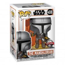 Фигурка Funko POP! Bobble: Star Wars: Mandalorian Flying (Exc)