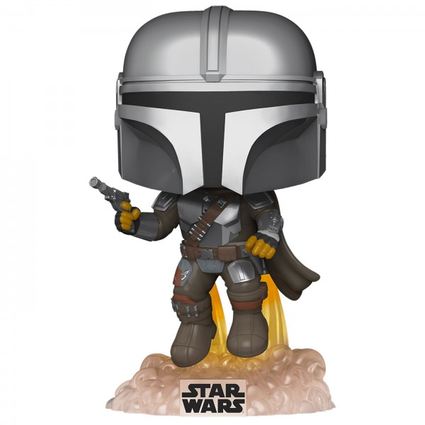 Фигурка Funko POP! Bobble: Star Wars: Mandalorian Flying (Exc)