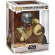 Фигурка Funko POP! Deluxe: Star Wars: Mandalorian with Child on Bantha