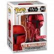 Фигурка Funko POP! Bobble: The Mandalorian Red Chrome (Эксклюзив)