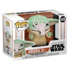 Фигурка Funko POP! Bobble: Star Wars: Mandalorian: Grogu with Chowder Squid (Exc)