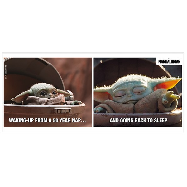 Кружка The Mandalorian Mug Meme 320ml