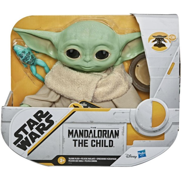 Мягкая игрушка Mandalorian The Child Talking Plush 19 см