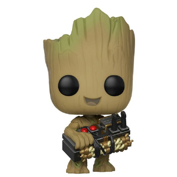 Фигурка Funko POP! Guardians Of The Galaxy 2: Groot with Bomb (Exc)