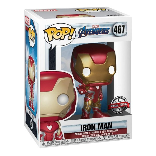 Фигурка Funko POP! Bobble Marvel: Avengers Endgame: Iron Man