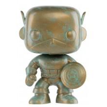 Фигурка Funko POP! Bobble: Marvel: Marvel 80th: Captain America (Эксклюзив)