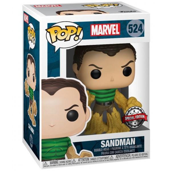 Фигурка Funko POP! Bobble: Marvel: Marvel 80th: Sandman (Эксклюзив)