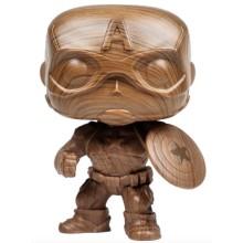 Фигурка Funko POP! Bobble: Marvel: Marvel: Captain America Wood Deco (Эксклюзив)