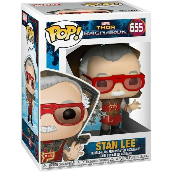 Фигурка Funko POP! Bobble: Marvel: Stan Lee in Ragnarok