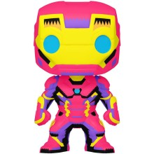Фигурка Funko POP! Bobble: Marvel: Black Light: Iron Man (Эксклюзив)