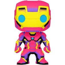 Фигурка Funko POP! Bobble: Marvel: Black Light: Iron Man (Эксклюзив)
