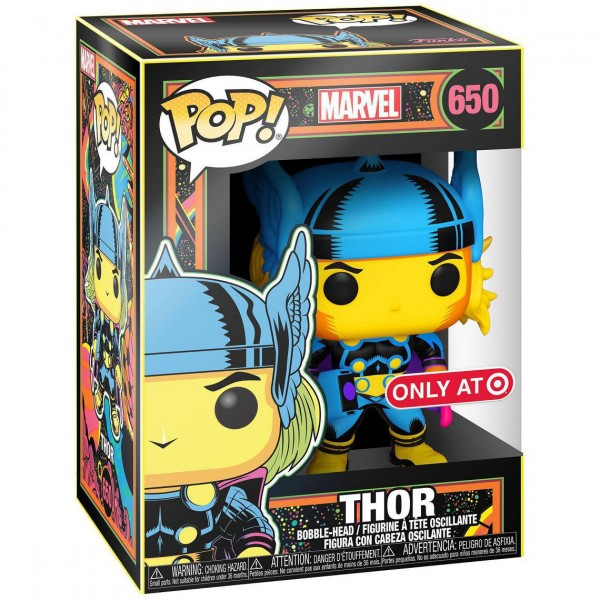 Фигурка Funko POP! Bobble: Marvel: Black Light: Thor (Эксклюзив)