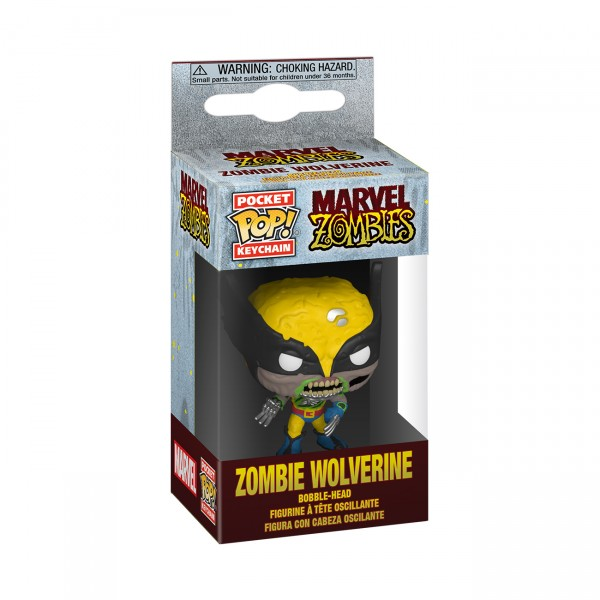 Брелок Funko Pocket POP! Marvel: Zombie Wolverine