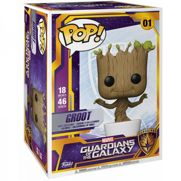 "Фигурка Funko POP! Bobble: Marvel: Guardians of the Galaxy: 18"" Dancing Groot"