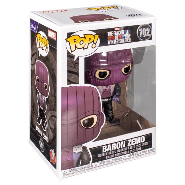 Фигурка Funko POP! Bobble: Marvel: The Falcon and Winter Soldier: Baron Zemo