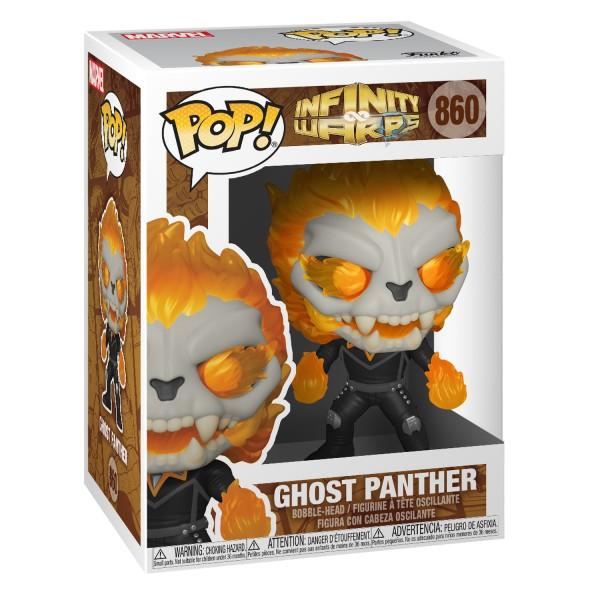 Фигурка Funko POP! Bobble: Marvel: Infinity Warps: Ghost Panther