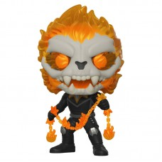 Фигурка Funko POP! Bobble: Marvel: Infinity Warps: Ghost Panther with chain (GW) (Exc)