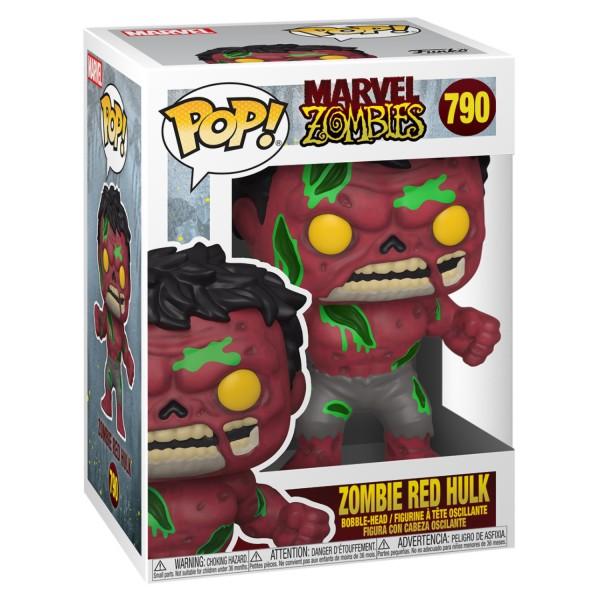 Фигурка Funko POP! Bobble: Marvel Zombies: Red Hulk
