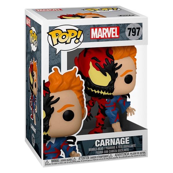 Фигурка Funko POP! Bobble: Marvel: Carnage (Exc)