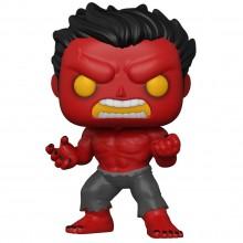 Фигурка Funko POP! Bobble: Marvel: Red Hulk (exc)