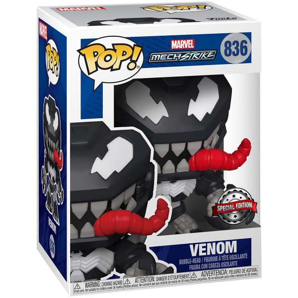 Фигурка Funko POP! Bobble Marvel: Avengers Mech Strike: Venom (Exc)