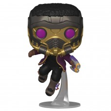 Фигурка Funko POP! Bobble: Marvel: What If: T'Challa Star-Lord