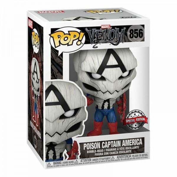 Фигурка Funko POP! Bobble: Marvel: Poison Captain America (Exc)