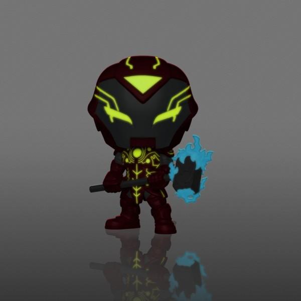 Фигурка Funko POP! Bobble: Marvel: Infinity Warps: Iron Hammer (GW) (Exc)