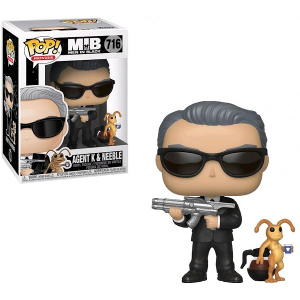 Фигурка Funko POP! Vinyl: Men In Black: Агент K и Нибл (Agent K & Neeble)