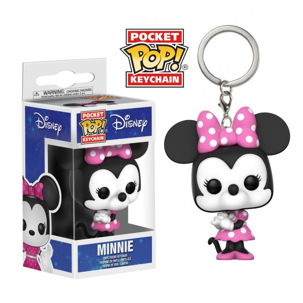 Брелок Funko Pocket POP! Keychain: Disney: Minnie Mouse