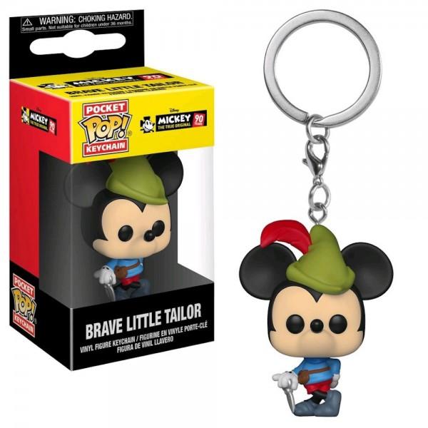 Брелок Funko Pocket POP! Keychain: Disney: Mickey's 90th: Brave Little Tailor