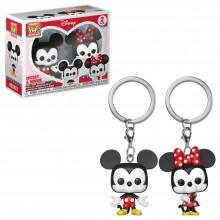 Брелок Funko POP! Keychain: Disney: Mickey: 2PK Mickey & Minnie