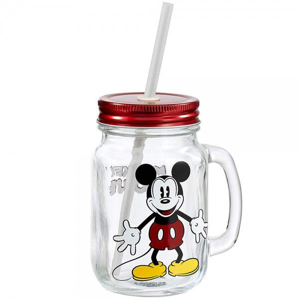 Кружка стеклянная Funko Disney Classic: Mason Jar: Mickey