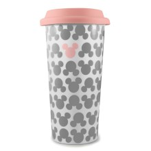 Кружка керамическая Funko Disney Classic: Mickey Summer: Lidded Mug: Block Print