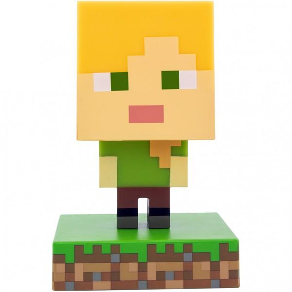 Светильник Minecraft Alex Icon Light