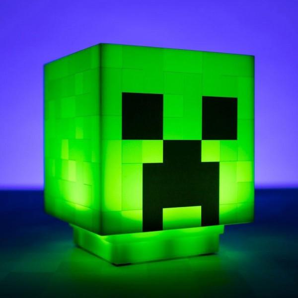 Светильник Minecraft Creeper Light