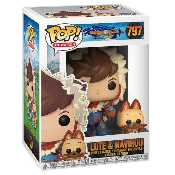Фигурка Funko POP! Vinyl: Monster Hunter Stories: Lute with Navirou