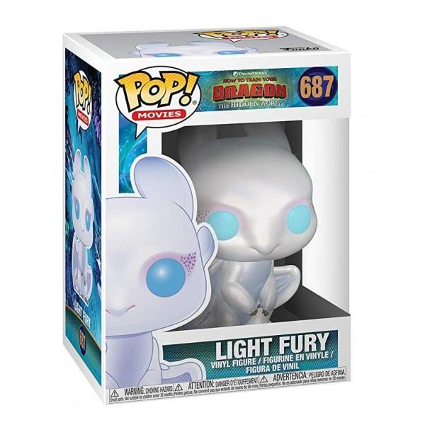 Фигурка Funko POP!: Как приручить дракона 3: Дневная Фурия (Light Fury)