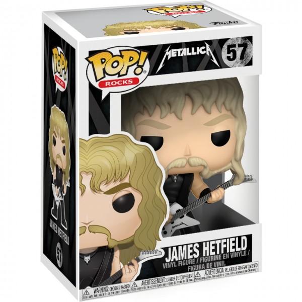 Фигурка Funko POP! Rocks: Metallica: Джеймс Хэтфилд (James Hetfield)