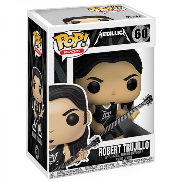 Фигурка Funko POP! Rocks: Metallica: Роберт Трухильо (Robert Trujillo)