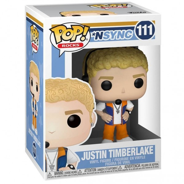 Фигурка Funko POP! Vinyl: Rocks: NSYNC: Justin Timberlake
