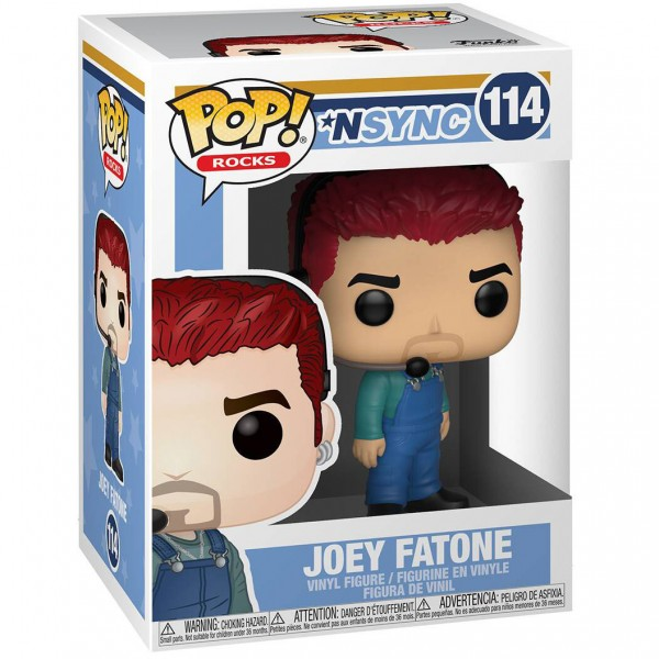 Фигурка Funko POP! Vinyl: Rocks: NSYNC: Joey Fatone